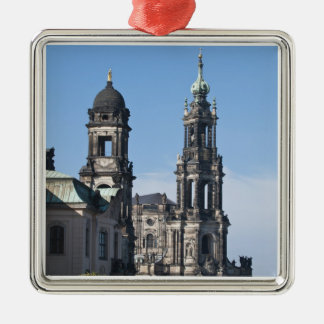 The hofkirche (Church of the Court) Dresden Christmas Tree Ornaments
