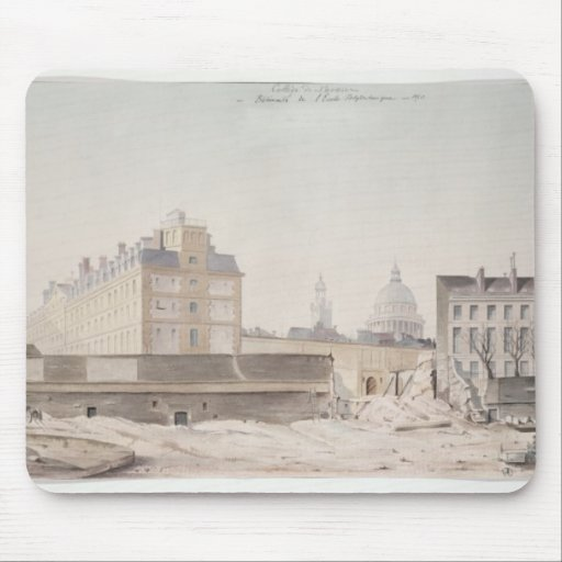 The Hole in the Rue Monge Mousepad