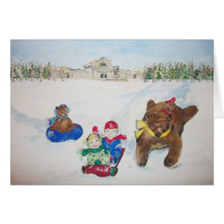 The Holidays on Art Hill Christmas card