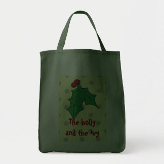 The holly and the ivy bags