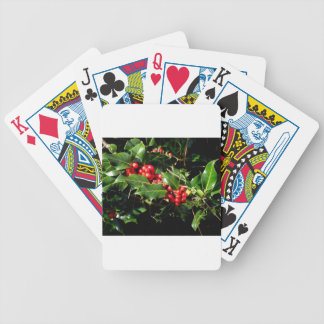 The Holly And The Ivy Bicycle Playing Cards