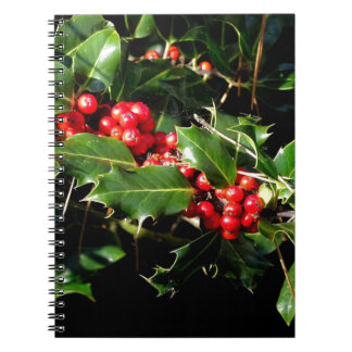 The Holly And The Ivy Spiral Notebook