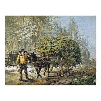 The Holly Cart Christmas Card