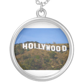The Hollywood Sign on Hollywood Hills California Custom Necklace