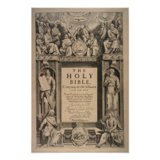 The Holy Bible Poster