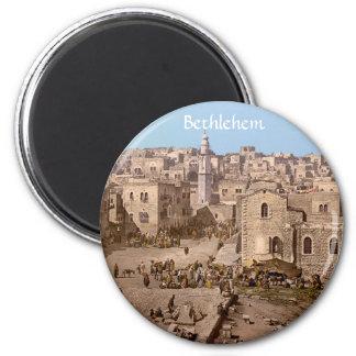 The Holy City Of Bethlehem Magnet