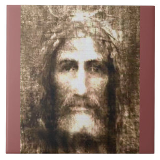 THE HOLY FACE OF JESUS CERAMIC TILE