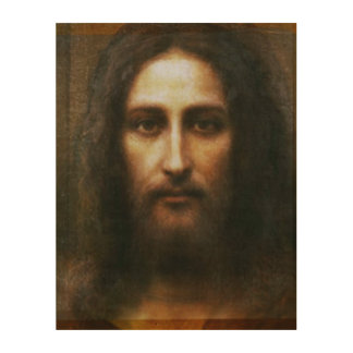 THE HOLY FACE OF JESUS WOOD PRINTS