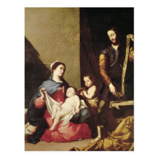 The Holy Family, 1639 Postcard