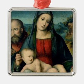 The Holy Family 2 Christmas Tree Ornaments