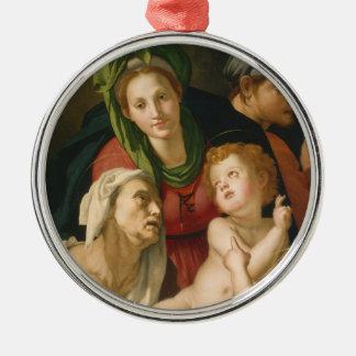 The Holy Family - Agnolo Bronzino Ornaments