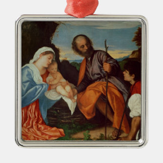 The Holy Family and a Shepherd, c.1510 Ornaments