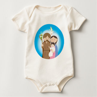 The Holy Family Baby Bodysuit
