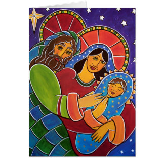 The Holy Family by Jan Oliver Card