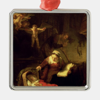 The Holy Family c 1645 Christmas Ornaments