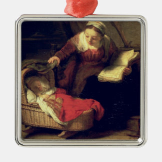 The Holy Family, c.1645 Christmas Ornament