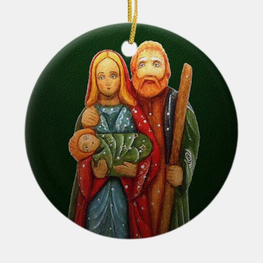 The Holy Family Chrstmas Ornament