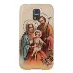 The Holy Family - Jesus, Mary, and Joseph Galaxy S5 Cases