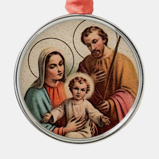 The Holy Family - Jesus, Mary, and Joseph Ornament