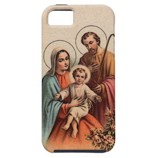 The Holy Family - Jesus, Mary, and Joseph iPhone 5 Cases