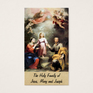 The Holy Family of Jesus, Mary and Joseph Business Card
