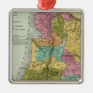 the Holy Land of Palestine Metal Ornament