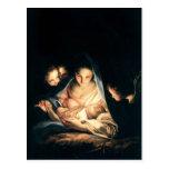 The Holy Night (The Nativity) Postcard