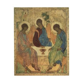 The Holy Trinity, 1420s Wood Wall Art