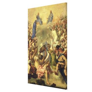 The Holy Trinity, 1553/54 (oil on canvas) Canvas Print