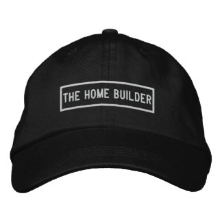 The Home Builder Headline Embroidery Embroidered Hat