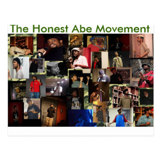 The Honest Abe Movement Postcard