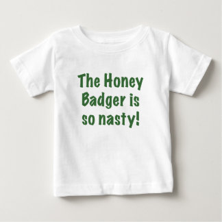 The Honey Badger is So Nasty T-shirts