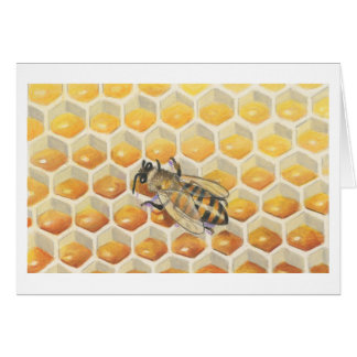 The Honey Bee Note Card