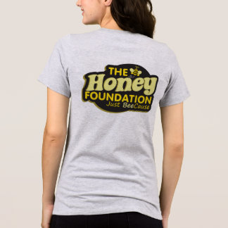The Honey Foundation: Womens Bee and Logo Shirt