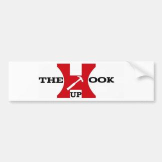 THE HOOK UP'S (PROMO LINE)... Bumper Sticker Car Bumper Sticker