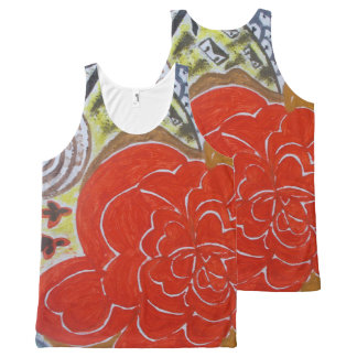 The hope All-Over print singlet