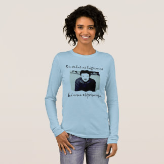 The Hope of Simone de Beauvoir Long Sleeve T-Shirt