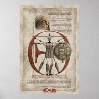 The Hoplite Tireless Warrior O Poster
