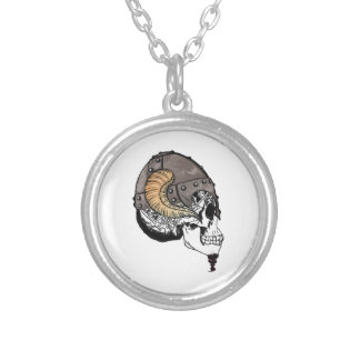 The Horned Warrior Silver Plated Necklace