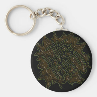 The Horror Of Records Keychain