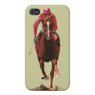 The Horse and Jockey iPhone 4/4S Cover