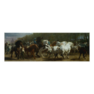 The Horse Fair by Rosa Bonfeur Poster