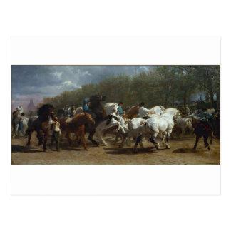 The Horse Fair by Rosa Bonheur Postcard