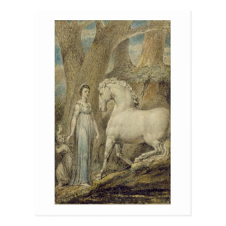 The Horse, from 'William Hayley's Ballads', c.1805 Postcard