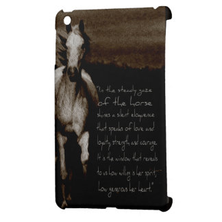 The Horse Gifts & phone cases iPad Mini Cover