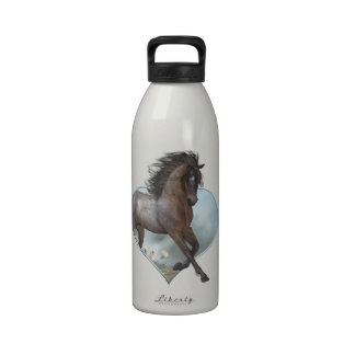 The Horse Liberty Bottle Reusable Water Bottle