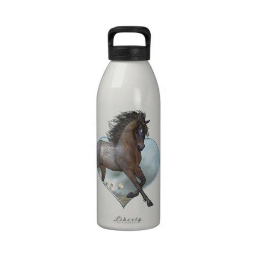 The Horse Liberty Bottle Reusable Water Bottle