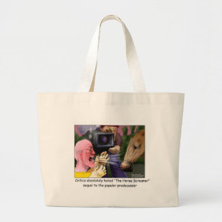 The Horse Screamer Funny Tees Gifts Cards More Tote Bag