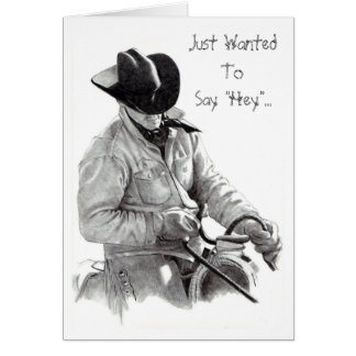 """THE HORSE TRAINER"""" pencil art, CARD"""
