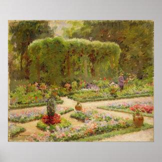 The Horticulturalist's Garden Poster